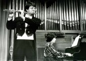 José Miguel Trujillo y Ana María Gorostiaga. Recital de flauta y piano
