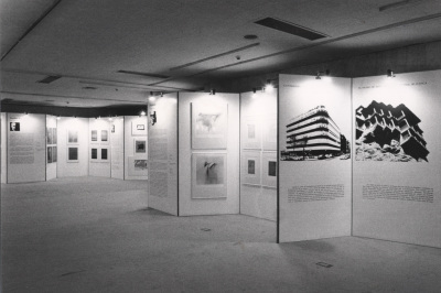 Vista parcial de la exposición Grabado abstracto español Colección de la Fundación Juan March
