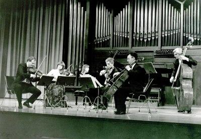 Cuarteto Bellas Artes y Menchu Mendizábal. Concierto Música de salón: el sexteto con piano