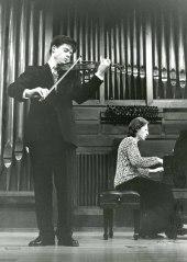 Gabriel Tamayo y Elisa Agudiez. Recital de violín y piano
