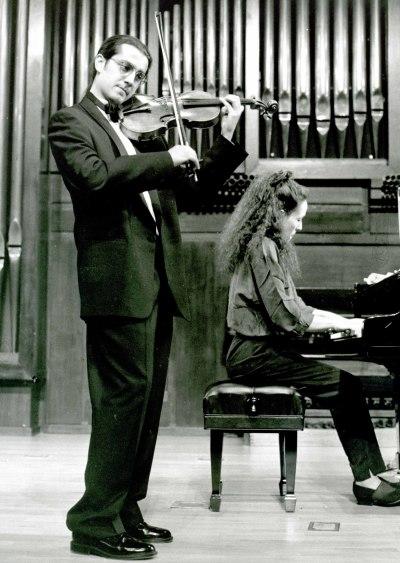 Patricio Gutiérrez y Miri Yampolsky. Recital de violín y piano