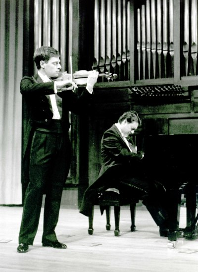 Juan Llinares y Brenno Ambrosini. Concierto Gabriel Fauré
