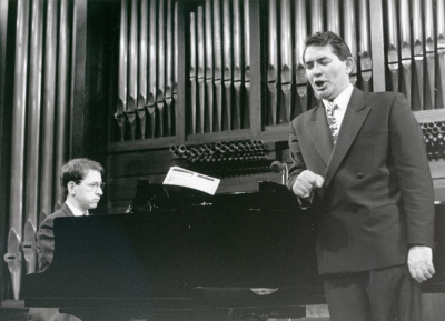 Xavier Pares y Iñaki Fresán. Concierto Música para tres poetas