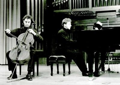 Francisco Ríos y Pablo Puig. Recital de violonchelo y piano