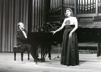 Antón Cardó y Elena Gragera. Concierto Música francesa de la época de Toulouse-Lautrec