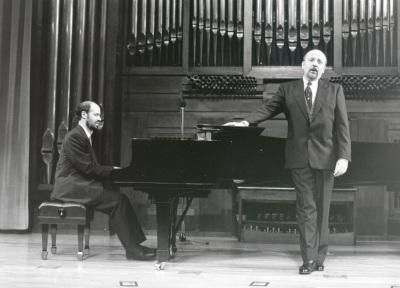 Sebastián Mariné y Manuel Cid. Concierto Música francesa de la época de Toulouse-Lautrec