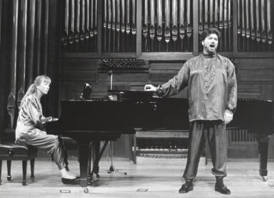 Nathalie Moulergues y Manuel Palacios. Recital de canto y piano