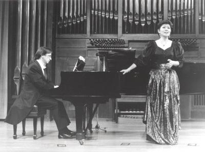 Alejandro Zabala y Atsuko Kudo. Concierto Integral de canciones de Joaquín Rodrigo