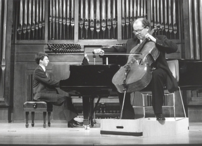 Graham Jackson y Adan Hunter. Recital de violonchelo y piano