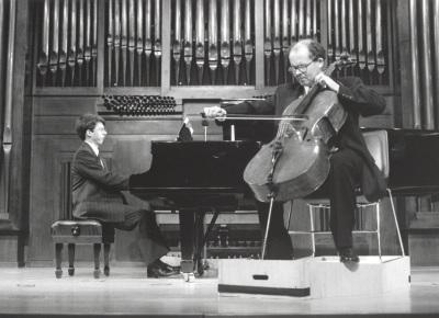 Graham Jackson y Adan Hunter. Recital de violonchelo y piano