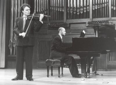 Gabriel Arcángel y Sebastián Mariné. Recital de violín y piano
