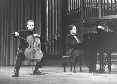Frigyes Fogel y Ángel Chavaldas. Recital de violonchelo y piano