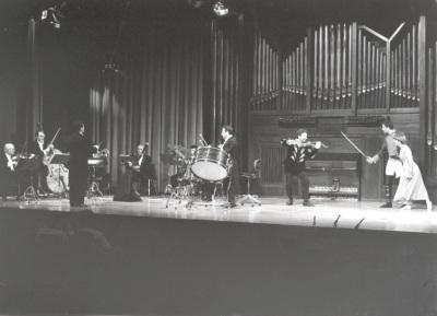 Grupo Instrumental Mavra, Andrés Zarzo y Rafael Taibo. Concierto Bajo la estrella de Diaghilev