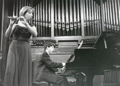 Maarika Jarvi y Graham Jackson. Concierto Músicas para la flauta