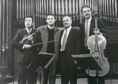 Mateo Soto y Trío Mompou. Concierto Piano-tríos españoles siglo XX