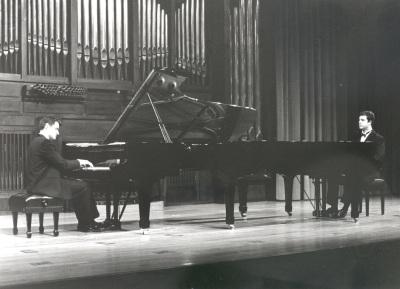 Eleuterio Domínguez y José Gallego. Concierto Estudios para piano siglo XX