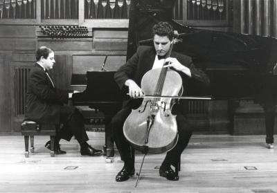 David Apellániz y Ángel Chavaldas. Recital de violonchelo y piano