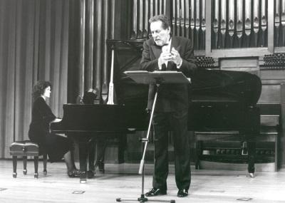 Begoña Uriarte y Rafael Taibo. Concierto Richard Strauss: música de cámara