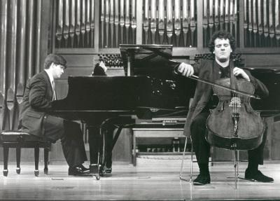 Juan Carlos Garvayo y Damián Martínez. Recitales para Jóvenes