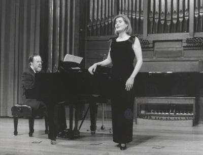 Elena Gragera y Antón Cardó. Concierto Integral para voz y piano de Roberto Gerhard