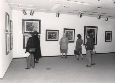 Vista parcial de la exposición Vanguardia rusa 1910-1930 Museo y Colección Ludwig