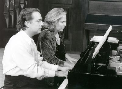 Iñaki Saldaña y Chiky Martín. Concierto Remembranzas de España