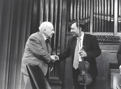 Ángel Martín Pompey y Cuarteto Arcana. Concierto Homenaje a Ángel Martín Pompey - Aula de (Re)estrenos (35)