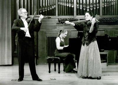 Liliane Pignatelli, Luis Michal y Martha Carfi. Concierto Poulenc y el Grupo de los seis