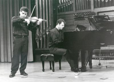 Víctor Correa-Cruz-Cruz y José Gallego. Concierto Sonatas para violín y piano