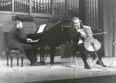 Kennedy Moretti y Frigyes Fogel. Recital de violonchelo y piano , 1999