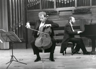 Ángel García Jerman y Kennedy Moretti. Concierto Tradición y progreso: el pasado en la música del siglo XX
