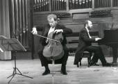 Ángel García Jerman y Kennedy Moretti. Concierto Tradición y progreso: el pasado en la música del siglo XX , 1999