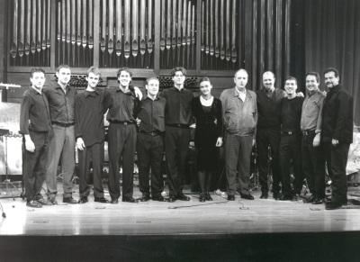 Neopercusión Centro, Ana Javanovic y Tomás Marco. Concierto Piano y percusión siglo XX