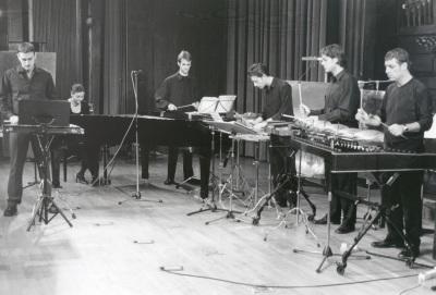 Neopercusión Centro. Concierto Piano y percusión siglo XX
