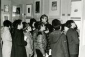 Vista parcial de la exposición Calcografía Nacional, 1975