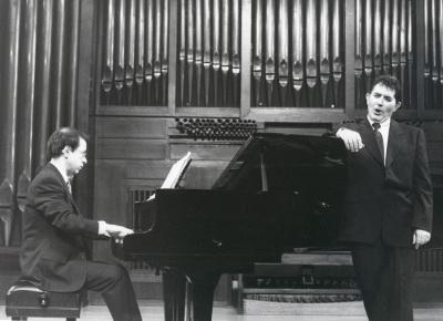 Xavier Pares y Iñaki Fresán. Concierto La voz en el siglo XX