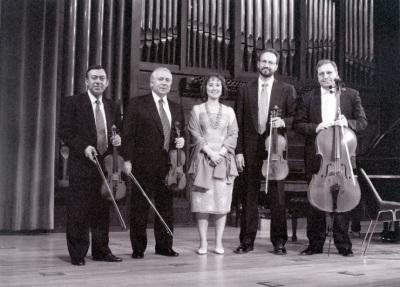 Zulema Cruz y Cuarteto Arcana. Concierto Tres nuevos quintetos