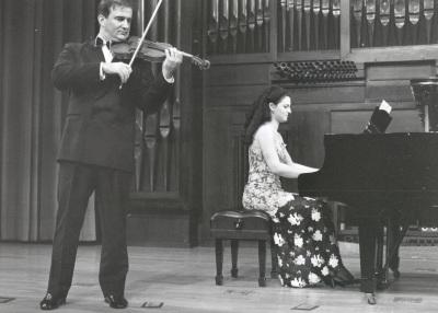 Sara Marianovich y Ino Mirkovich. Recital de violín y piano