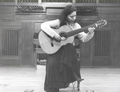 Ana Carpintero. Concierto La guitarra del siglo XX