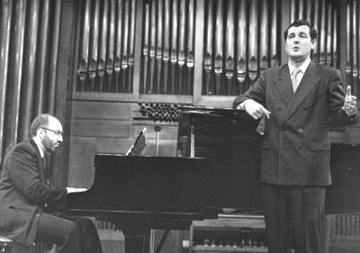 Kennedy Moretti y Ángel Rodríguez Rivero. Recital de canto y piano