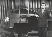 Kennedy Moretti y Ángel Rodríguez Rivero. Recital de canto y piano , 2000