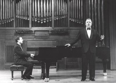 Gerardo López Laguna y Félix M. Goñi. Recital de Canto y Piano