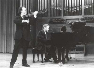 Joaquín Palomares y Michel Wagemans. Concierto Sonatas para violín y piano de Mozart