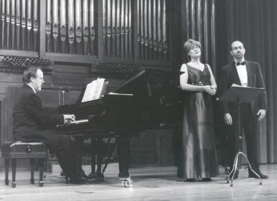 Elena Gragera, Antón Cardó y Francesc Garrigós. Concierto Robert Schumann: canciones de 1840