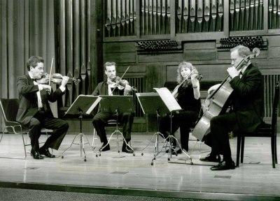 Cuarteto Degani. Concierto El cuarteto iberoamericano