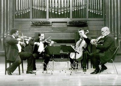 Cuarteto de Cuerdas de La Habana. Concierto El cuarteto iberoamericano