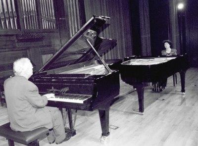 Dúo Uriarte-Mrongovius. Concierto Las sonatas para piano de Beethoven
