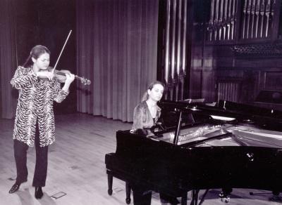 Tatiana Samouil y Irini Gaitani. Recital de violín y piano