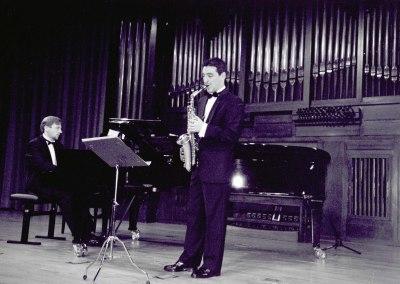 Juan M. Jiménez Alba y Pablo Puig. Recital de saxofón y piano