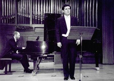 Ángel Rodríguez Rivero y Kennedy Moretti. Concierto Britten: música de cámara y canciones
